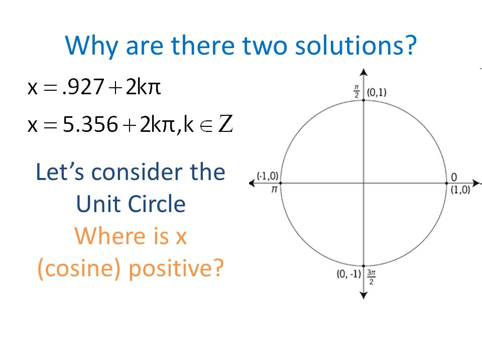 So what if we have… 3 sin 2 x – sin x = 2