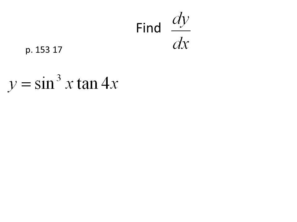 Find p. 153 17