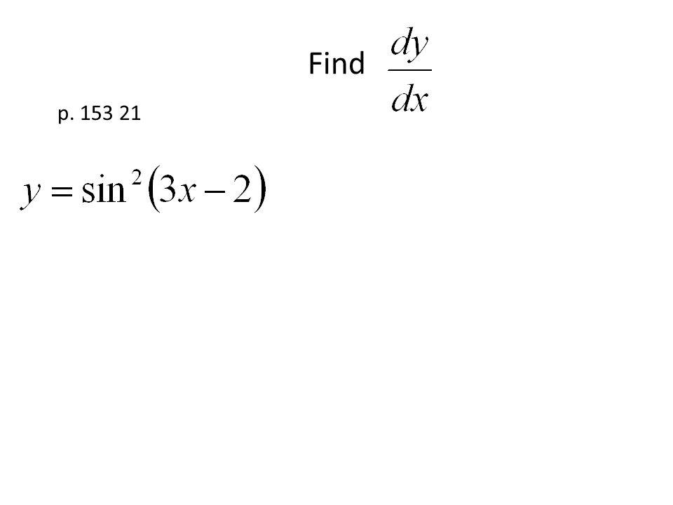Find p. 153 21