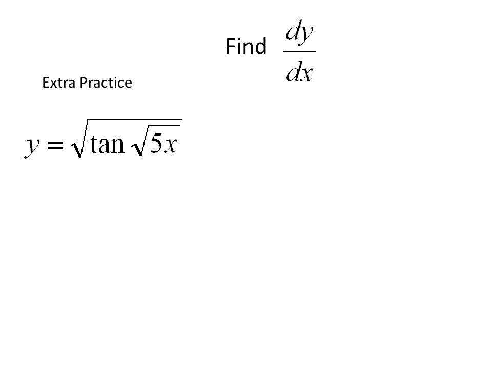 Find Extra Practice