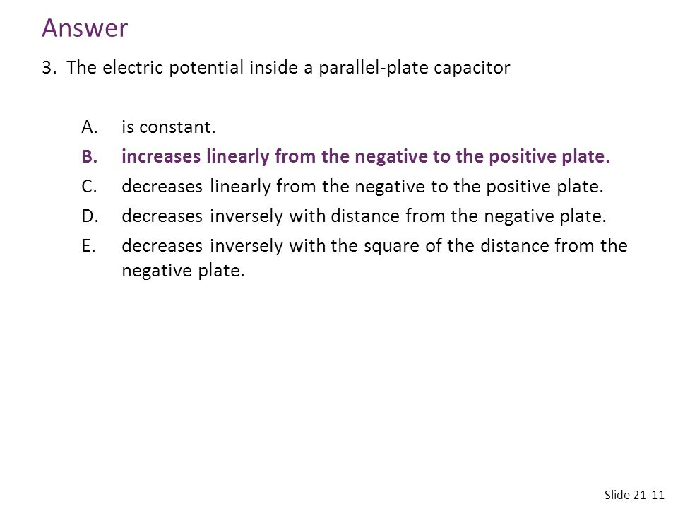 Reading Quiz 4.The electric field A.is always perpendicular to an equipotential surface.