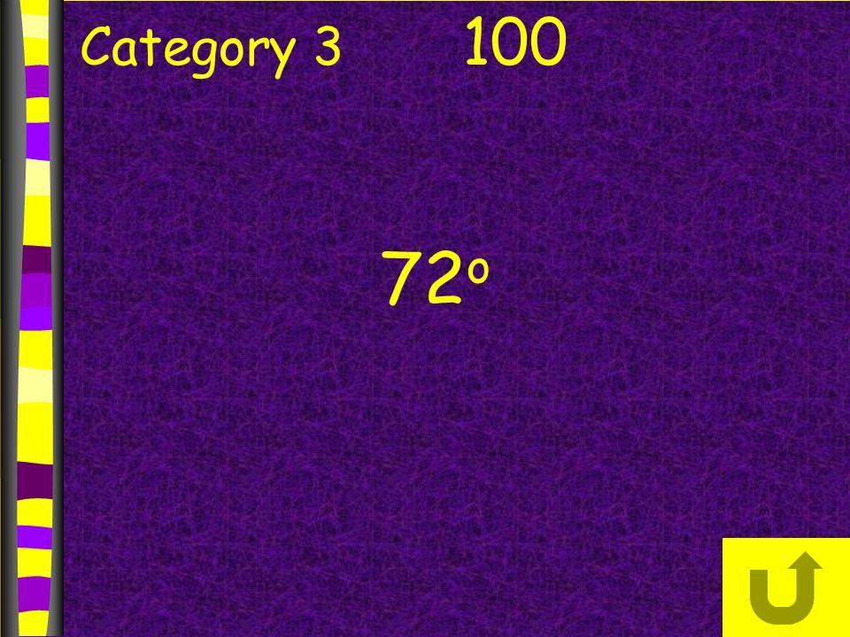 Category 3 100 72 o