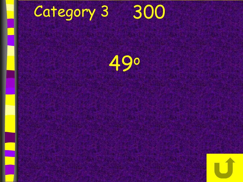 Category 3 300 49 o