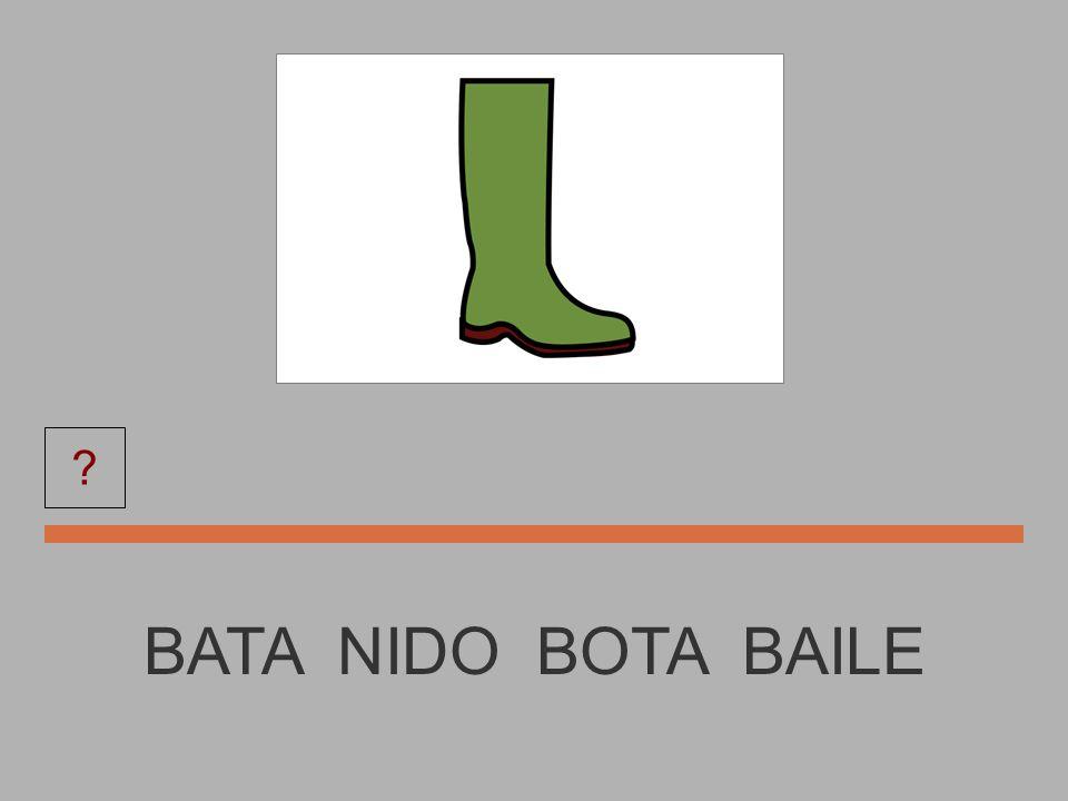 NIDO NIDO BOTA BATA MONEDA ?