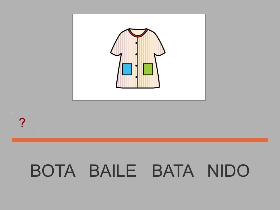 BOTA BATA NIDO BOTA BAILE