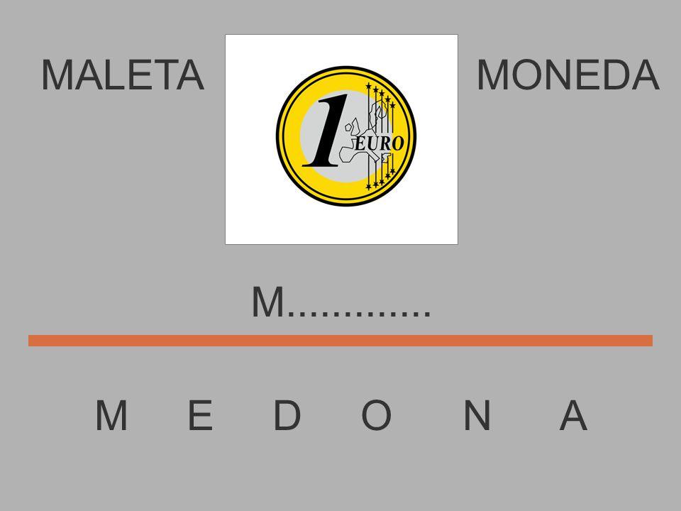 MALETA M E D O N A MONEDA...............