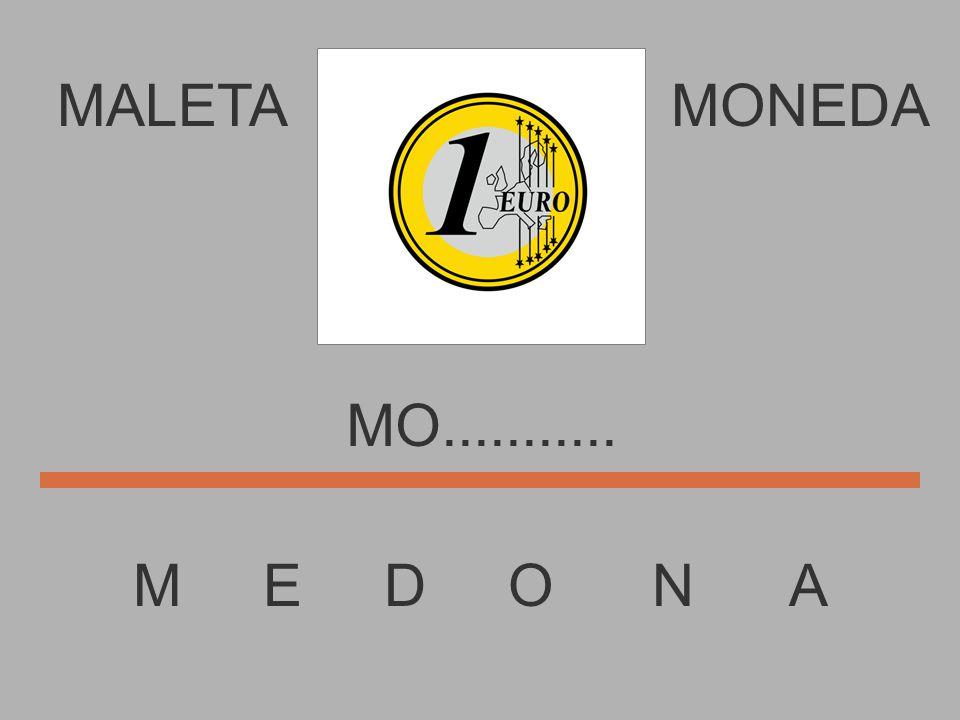 MALETA M E D O N A MONEDA M.............