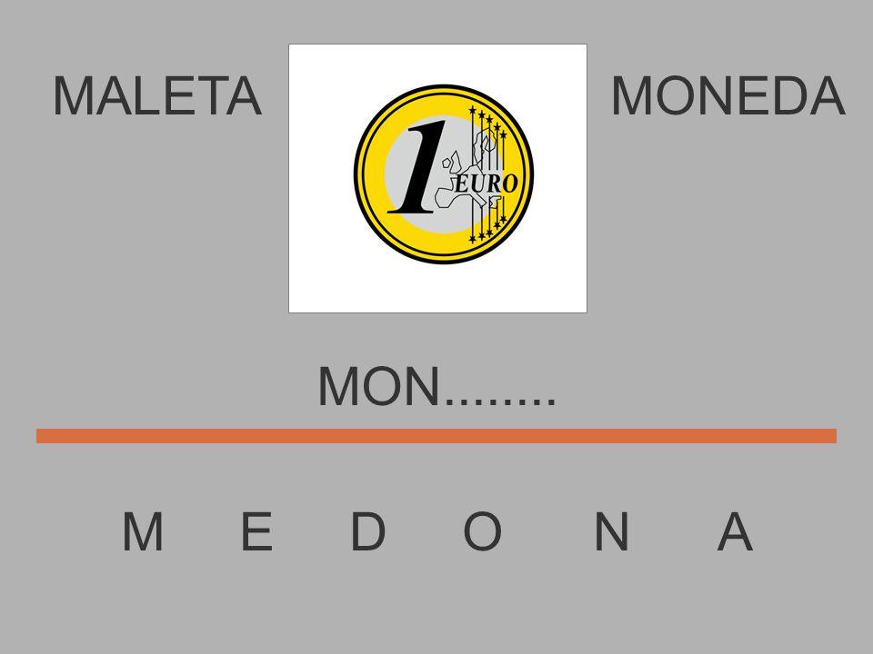 MALETA M E D O N A MONEDA MO...........