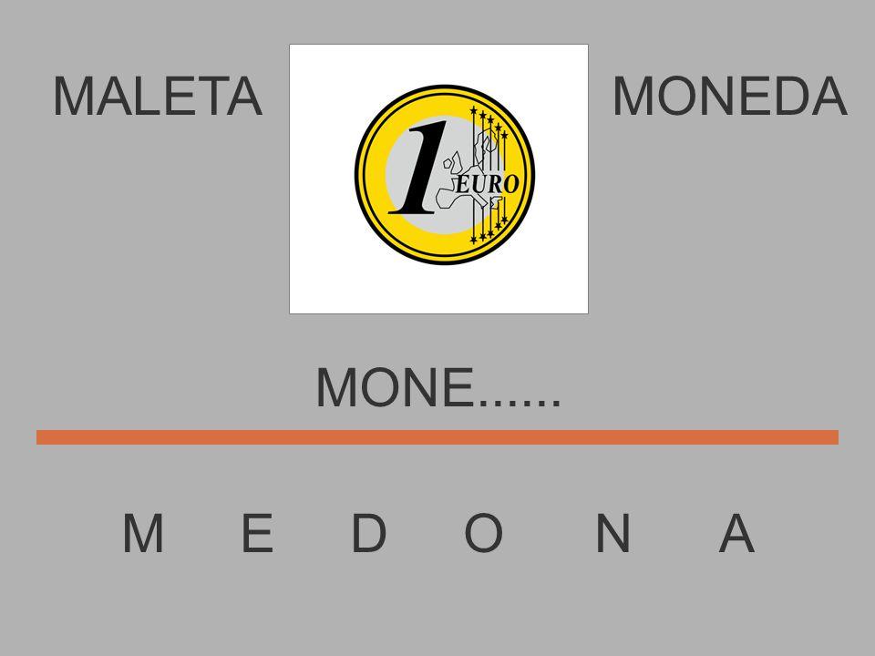 MALETA M E D O N A MONEDA MON........