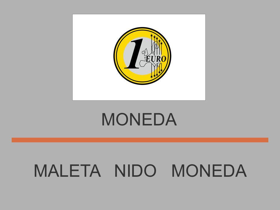 MONEDA MALETA NIDO MONEDA