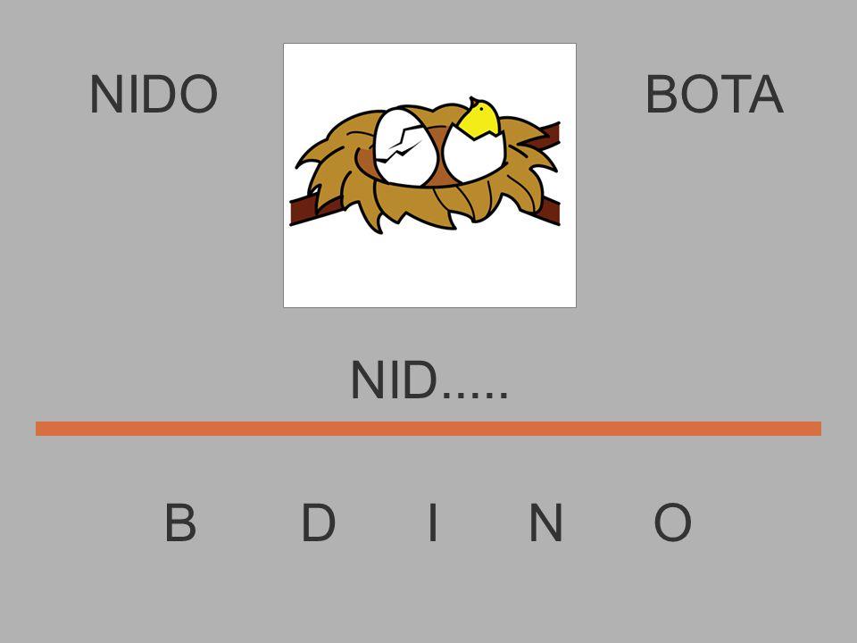 NIDO B D I N O BOTA NI.........