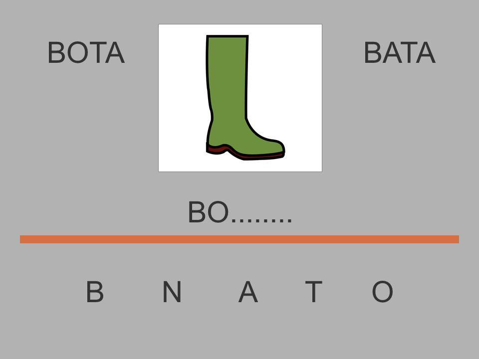 BOTA B N A T O BATA B............