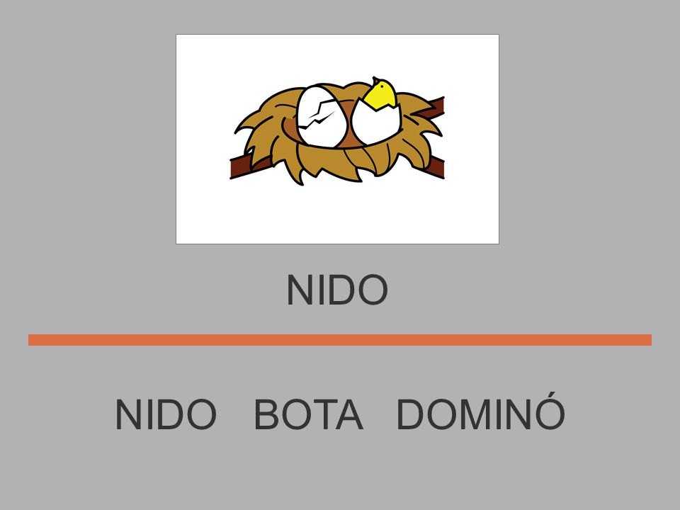 NIDO NIDO BOTA DOMINÓ