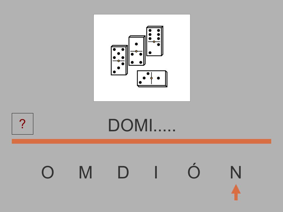 O M D I Ó N DOM....... ?