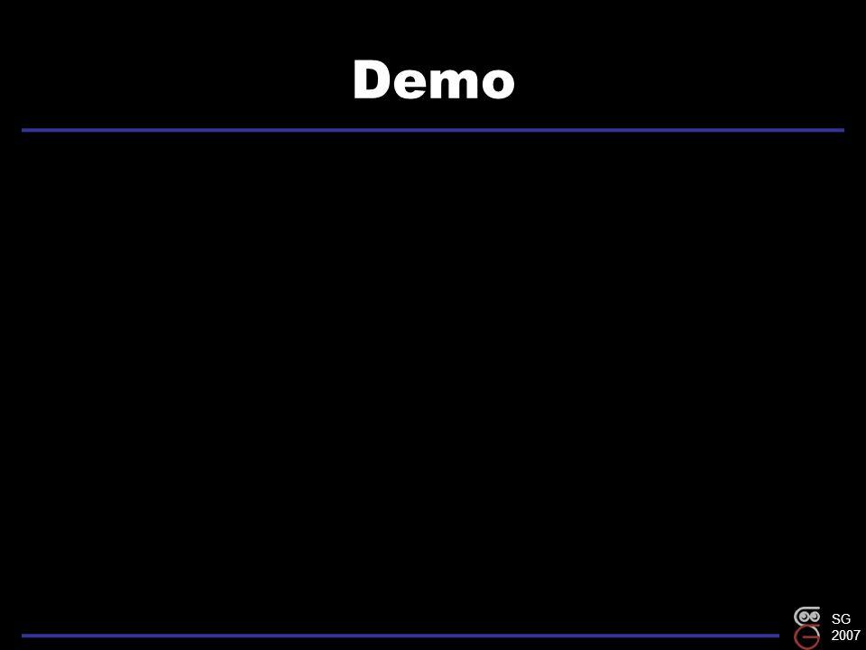 SG 2007 Demo