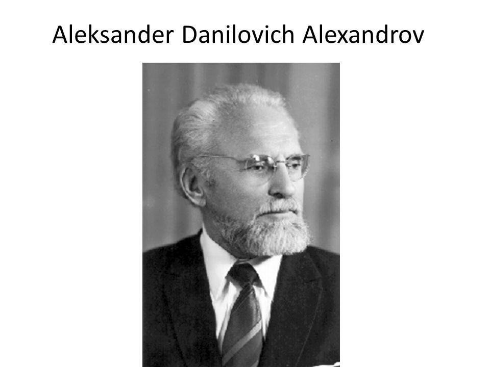 Aleksander Danilovich Alexandrov