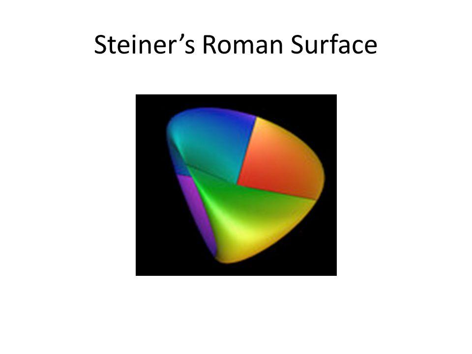 Steiner's Roman Surface