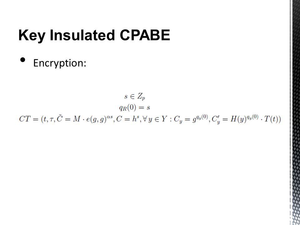 Key Insulated CPABE Encryption:
