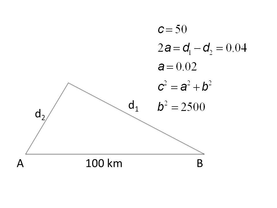 AB100 km d2d2 d1d1