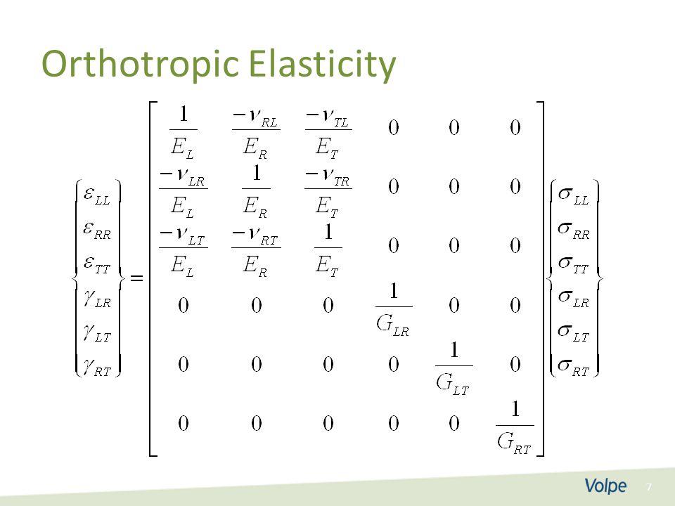 7 Orthotropic Elasticity