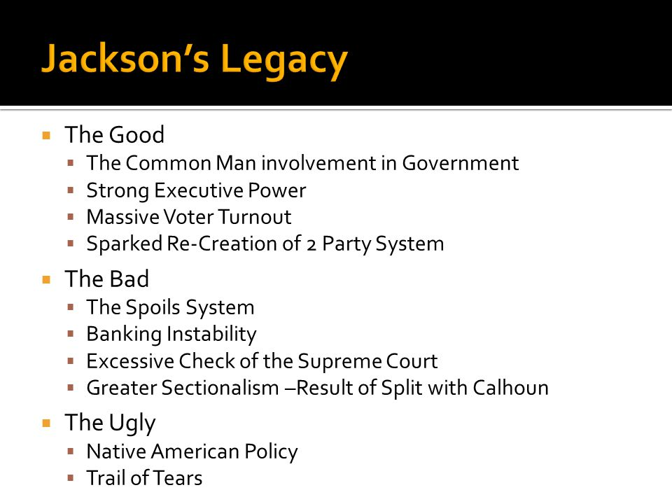  Forced relocation of the Cherokee tribe. Before the journey was over ¼ of the tribe perished.  Reflected Jackson's personal apathy toward Native Am