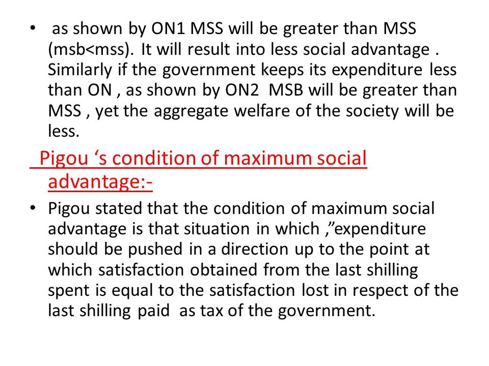 This will result in net social benefit(nsb).