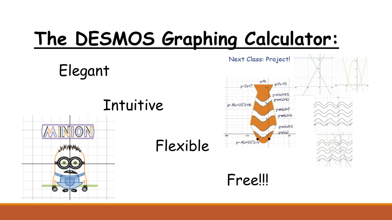 The DESMOS Graphing Calculator: Elegant Intuitive Flexible Free!!!