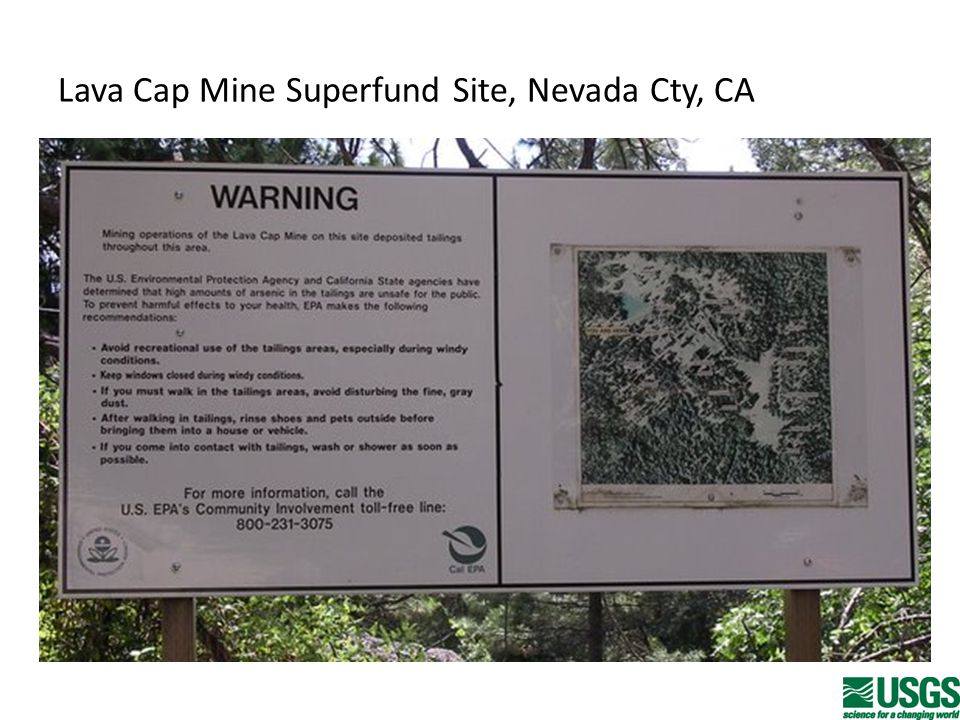 Lava Cap Mine Superfund Site, Nevada Cty, CA