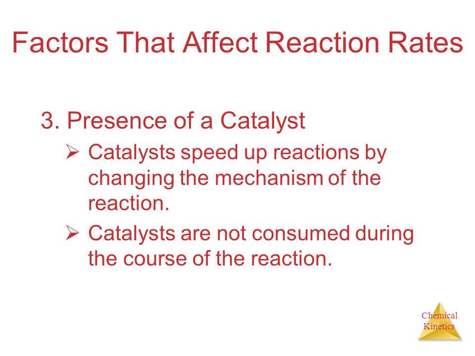 Chemical Kinetics Factors That Affect Reaction Rates 4.