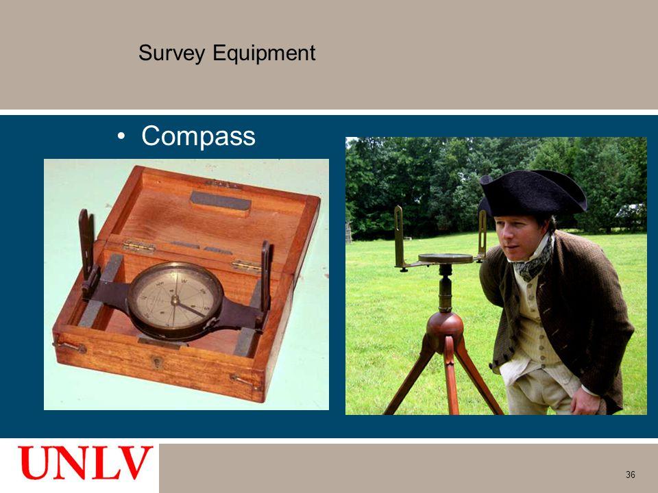 Survey Equipment Compass 36
