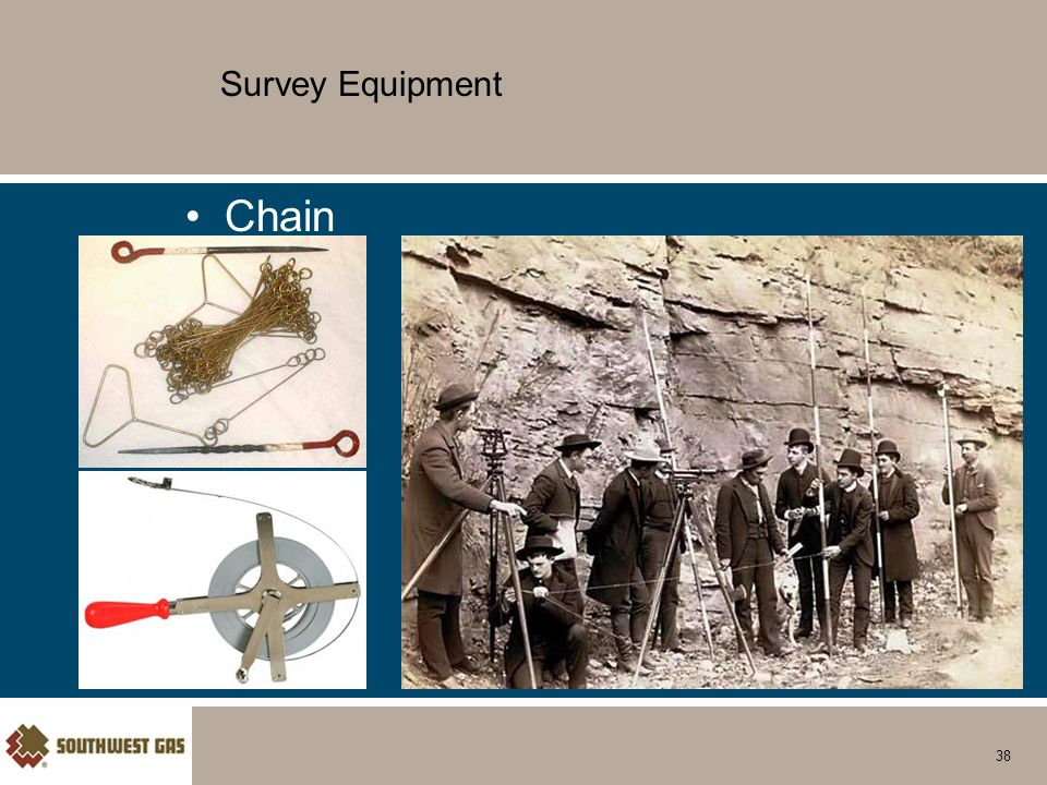 Survey Equipment Chain 38