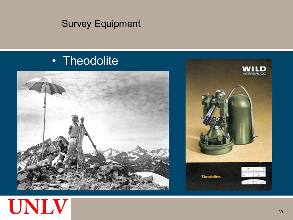 Survey Equipment Theodolite 39