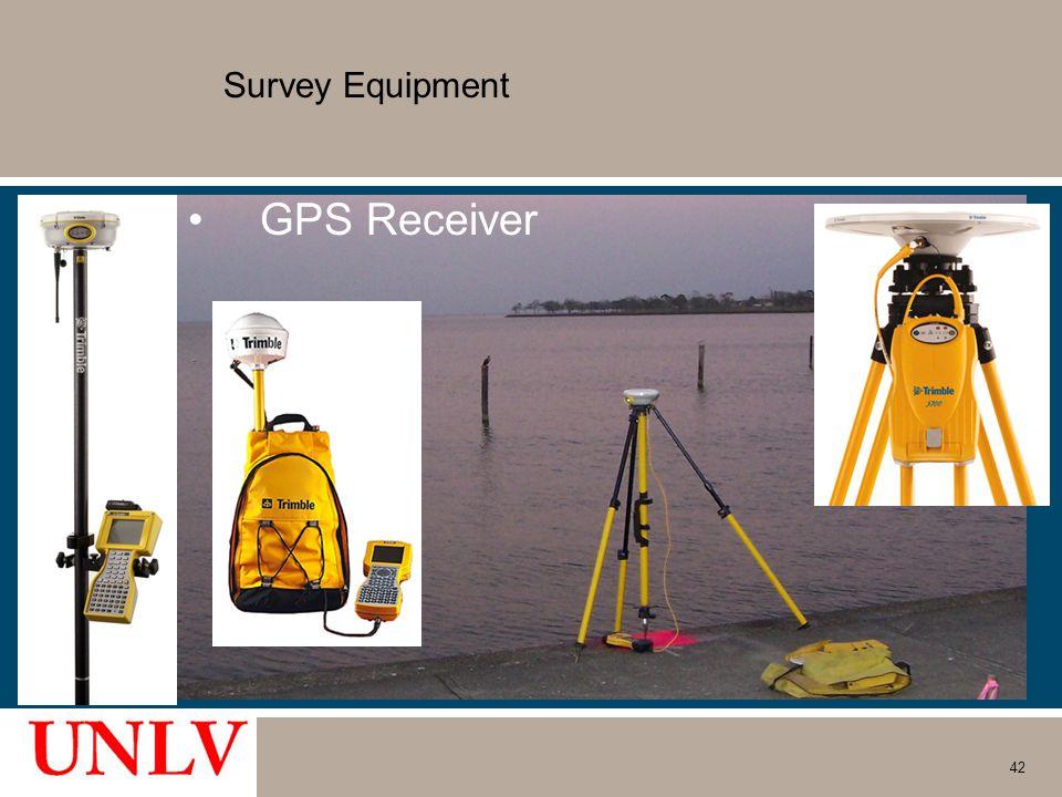 Survey Equipment GPS Receiver 42