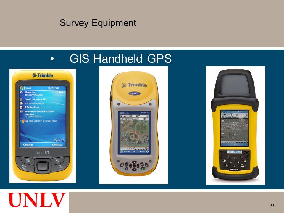 Survey Equipment GIS Handheld GPS 44
