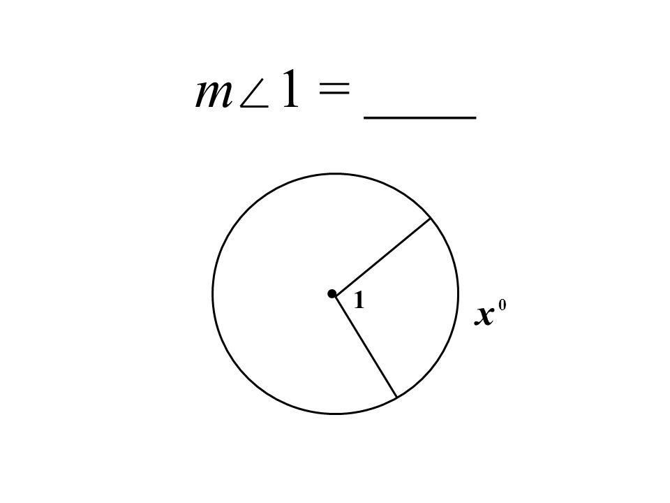 m 1 = ____. 1 x 0
