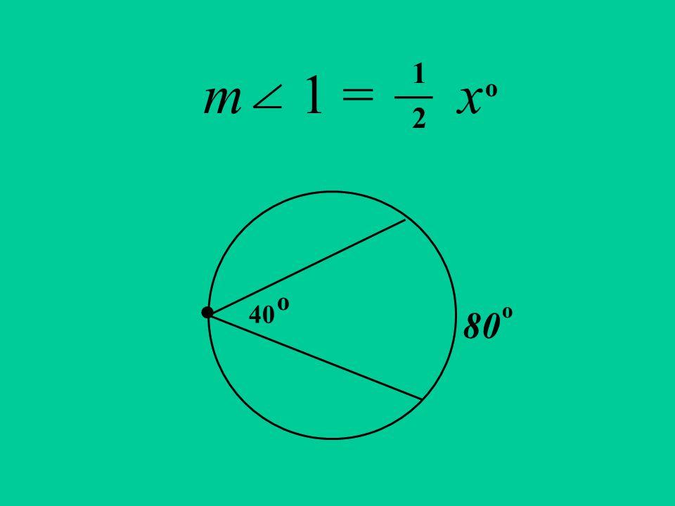 m 1 = x. 40 80 o o __ 1 2 o