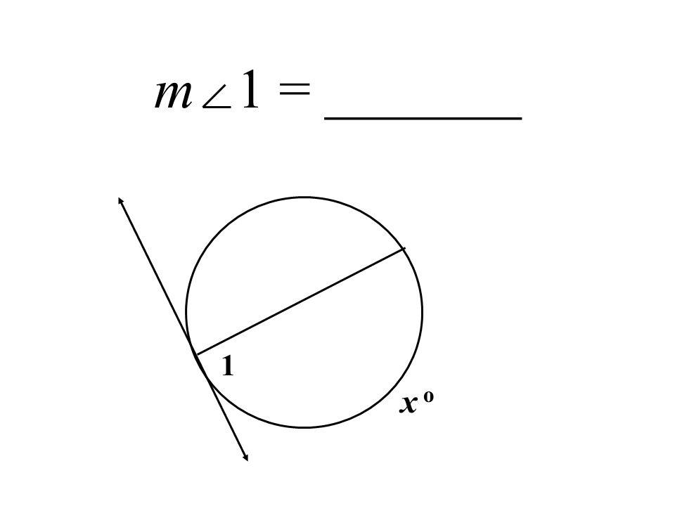 m 1 = _______ 1 x o