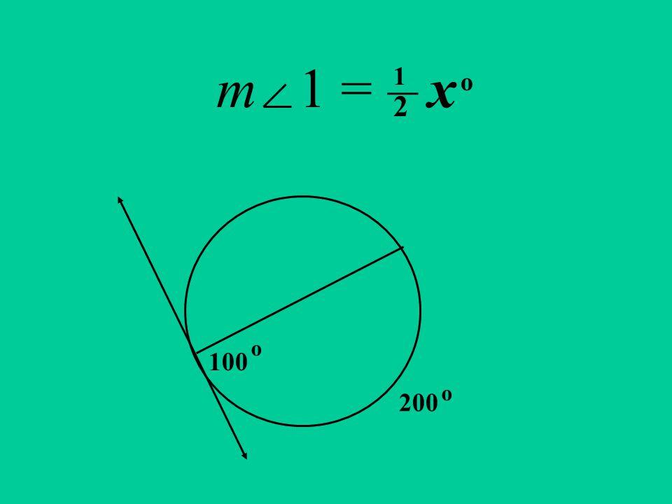 m 1 = x 100 200 o 1 __ 2 o o
