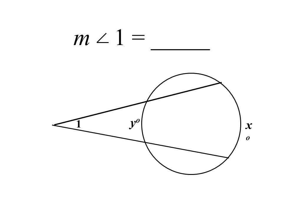 m 1 = _____ xoxo yoyo 1
