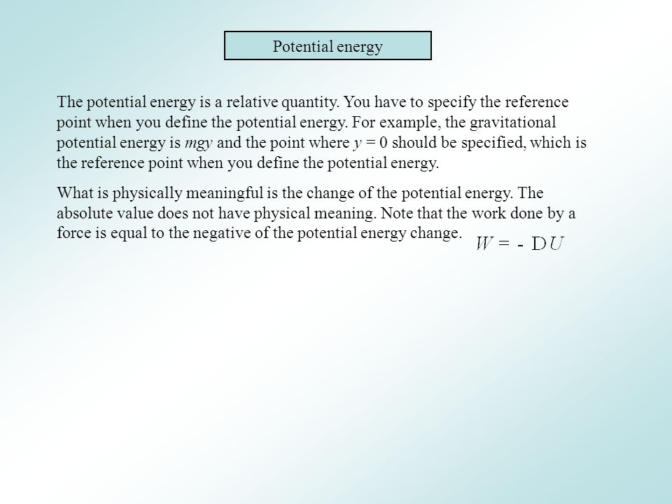 Gravitational potential energy plus Elastic potential energy