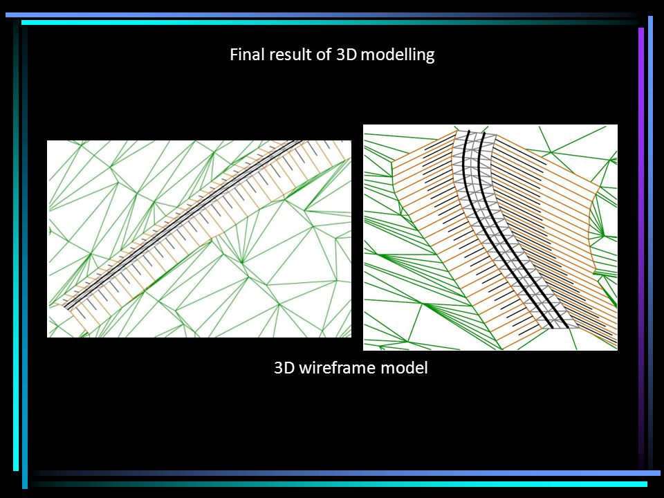 Choosing the distance for model generation At the end, there is a question about the value of distance that should be used for model generation along the railway centre line in order to achieve its adequate precision.