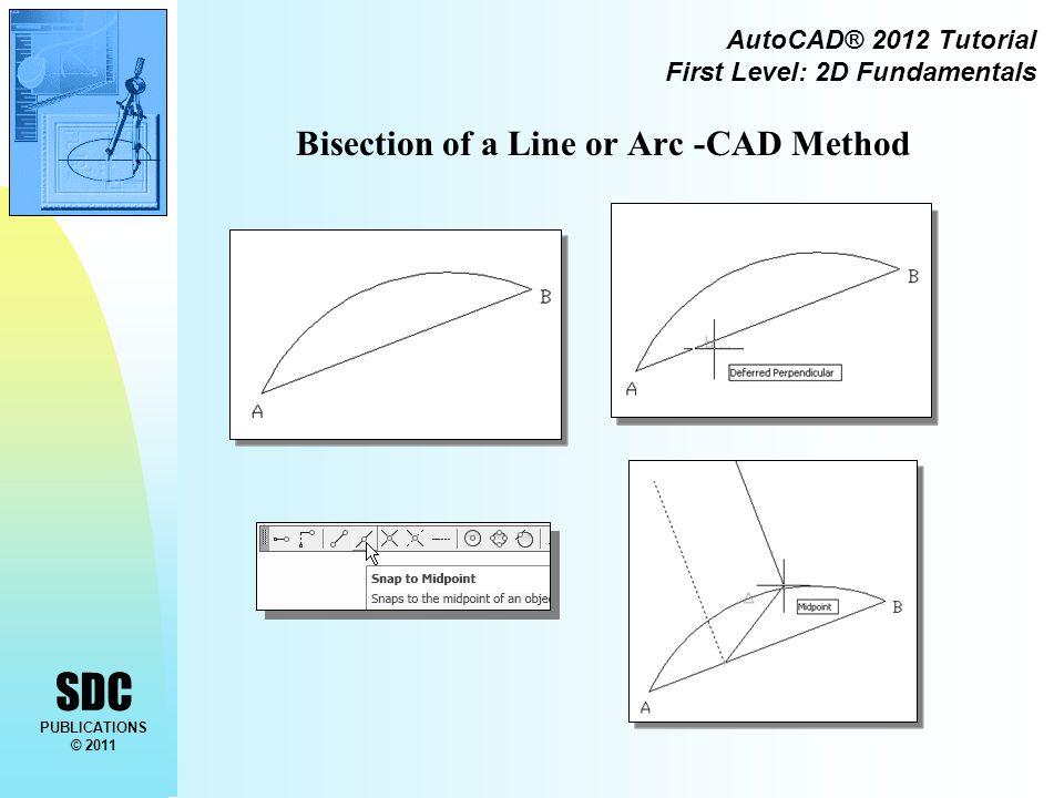 SDC PUBLICATIONS © 2011 AutoCAD® 2012 Tutorial First Level: 2D Fundamentals The FILLET command