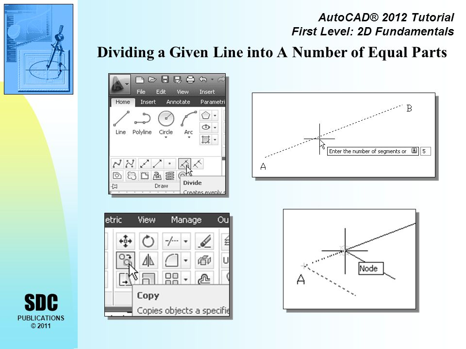 SDC PUBLICATIONS © 2011 AutoCAD® 2012 Tutorial First Level: 2D Fundamentals Using the OFFSET command