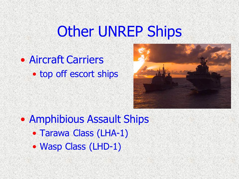 Ammunition Ships (AE) Kilauea Class (TAE-26) Services Ammunition, bombs, missiles Limited dry cargo Helicopters for VERTREP ops