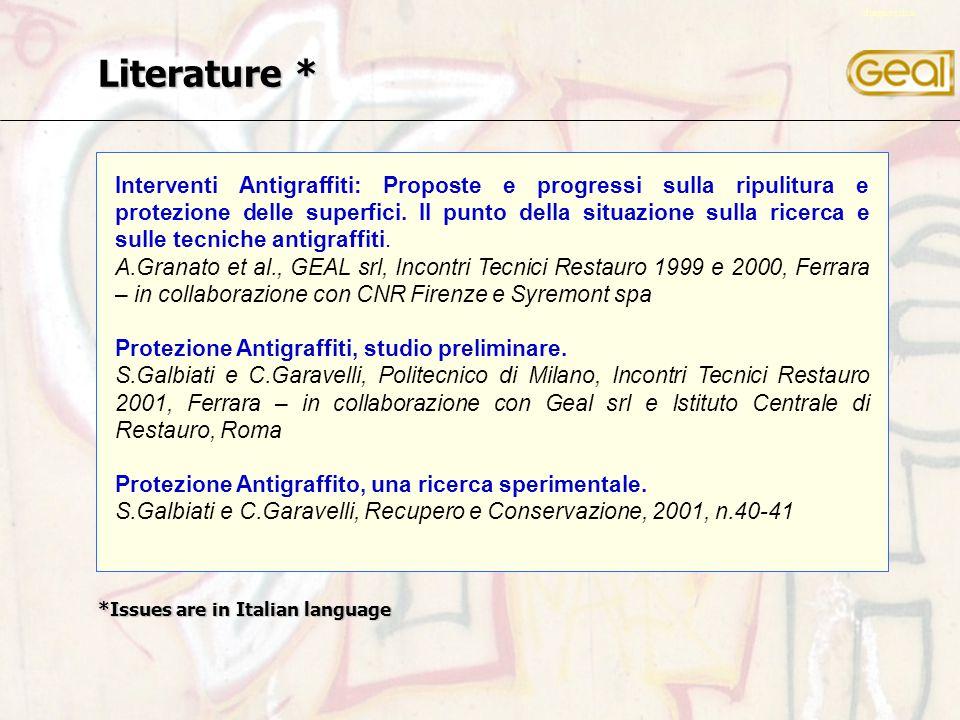 Interventi Antigraffiti: Proposte e progressi sulla ripulitura e protezione delle superfici.