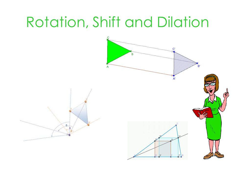 Rotation, Shift and Dilation