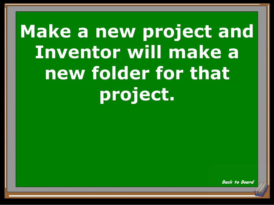 When using Inventor, to start a new set of drawings you should: Show Answer