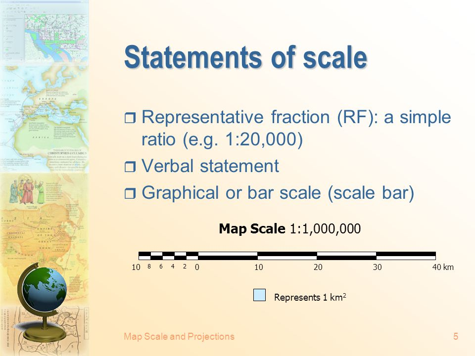 Map Scale and Projections25 Mercator's projection