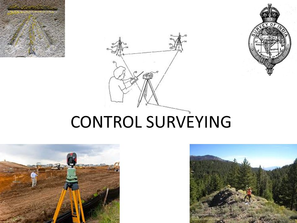 UNIT II Control Surveying 2.