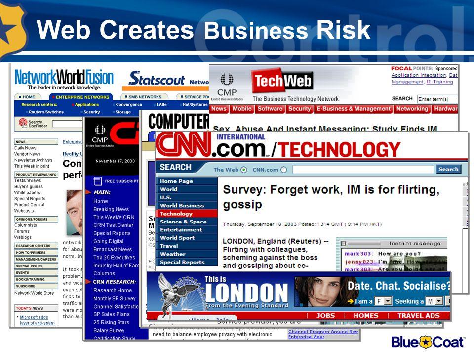 Web Creates Business Risk